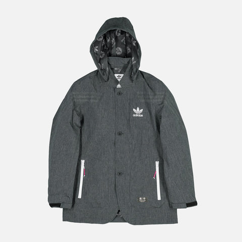UNITED ARROWS & SONS X ADIDAS URBAN JACKET - BLACK