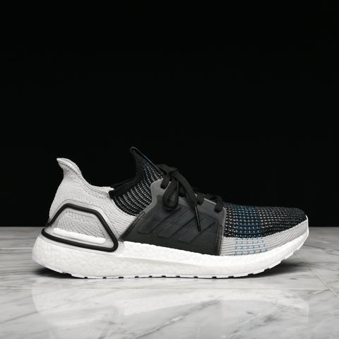 ULTRABOOST 19 - BLACK / GREY / CYAN