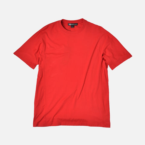 CLASSIC CREWNECK TEE - RED