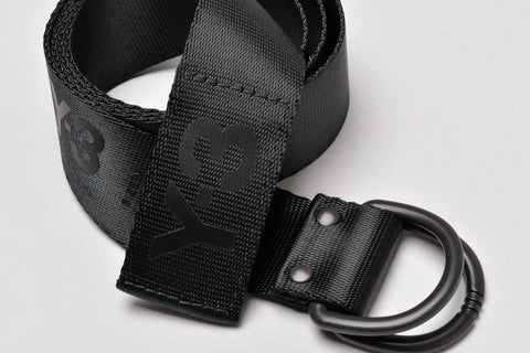 LOGO BELT - BLACK / BLACK