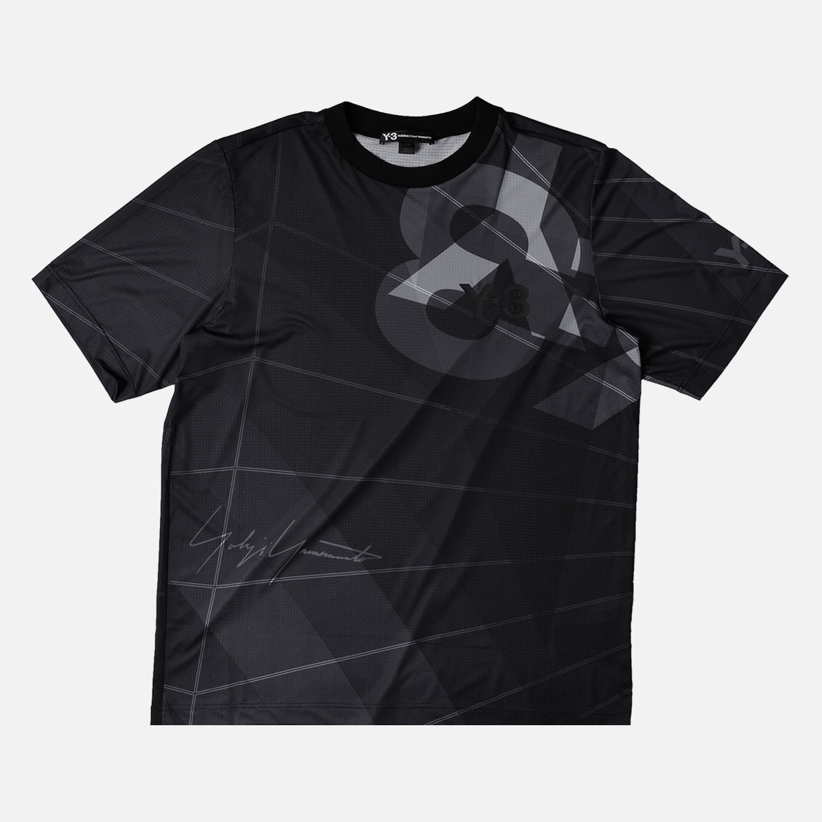 AOP FOOTBALL SHIRT - BLACK