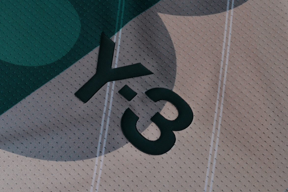 AOP FOOTBALL SHIRT - GREEN / TAN
