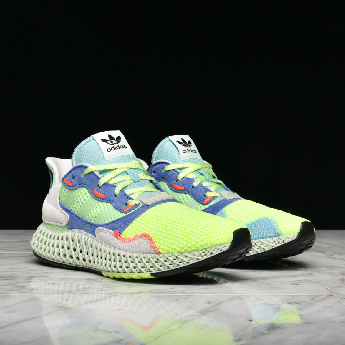 ZX 4000 4D - HI-RES YELLOW / LINEN GREEN / EASY MINT