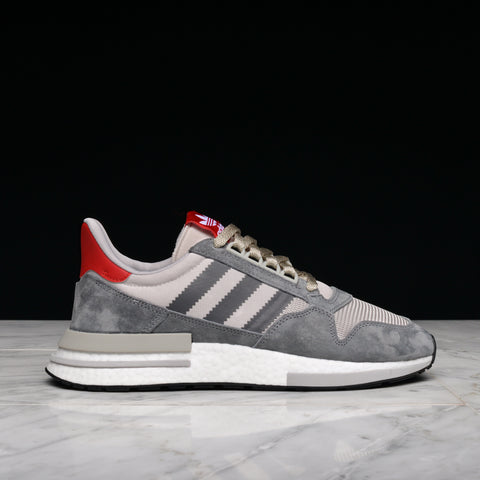 ZX 500 RM - GREY / CLOUD WHITE / SCARLET