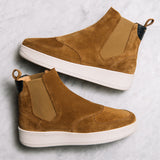 Q76 - BROWN SUEDE