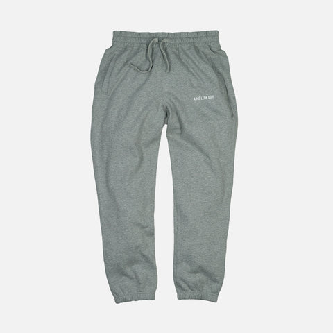 FRENCH TERRY CAMPER PANT - GREY MIX