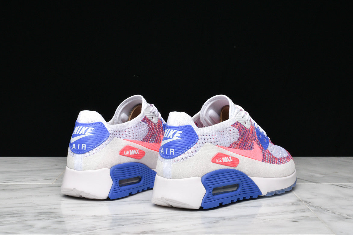 e593b8f43711 ... AIR MAX 90 ULTRA 2.0 FLYKNIT (WMNS) - RACER PINK   MEDIUM BLUE ...