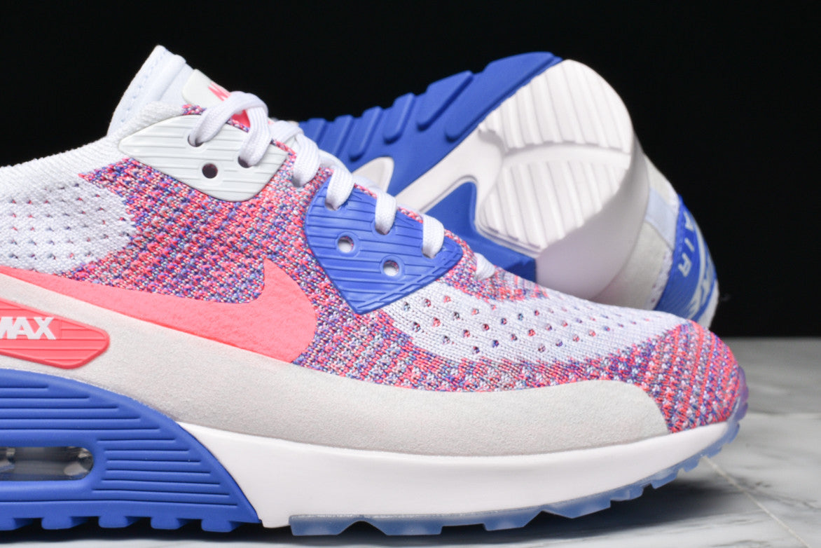 AIR MAX 90 ULTRA 2.0 FLYKNIT (WMNS) - RACER PINK / MEDIUM BLUE
