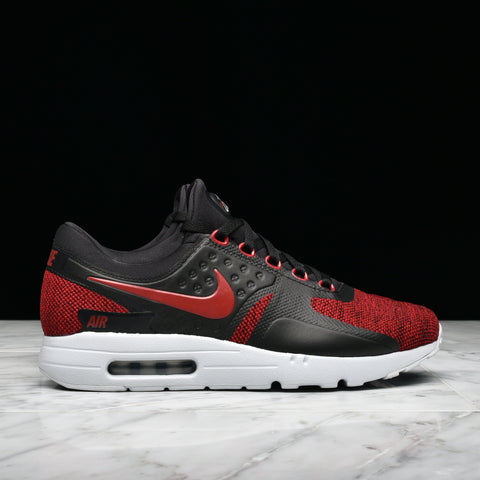 AIR MAX ZERO SE - BLACK / TOUGH RED