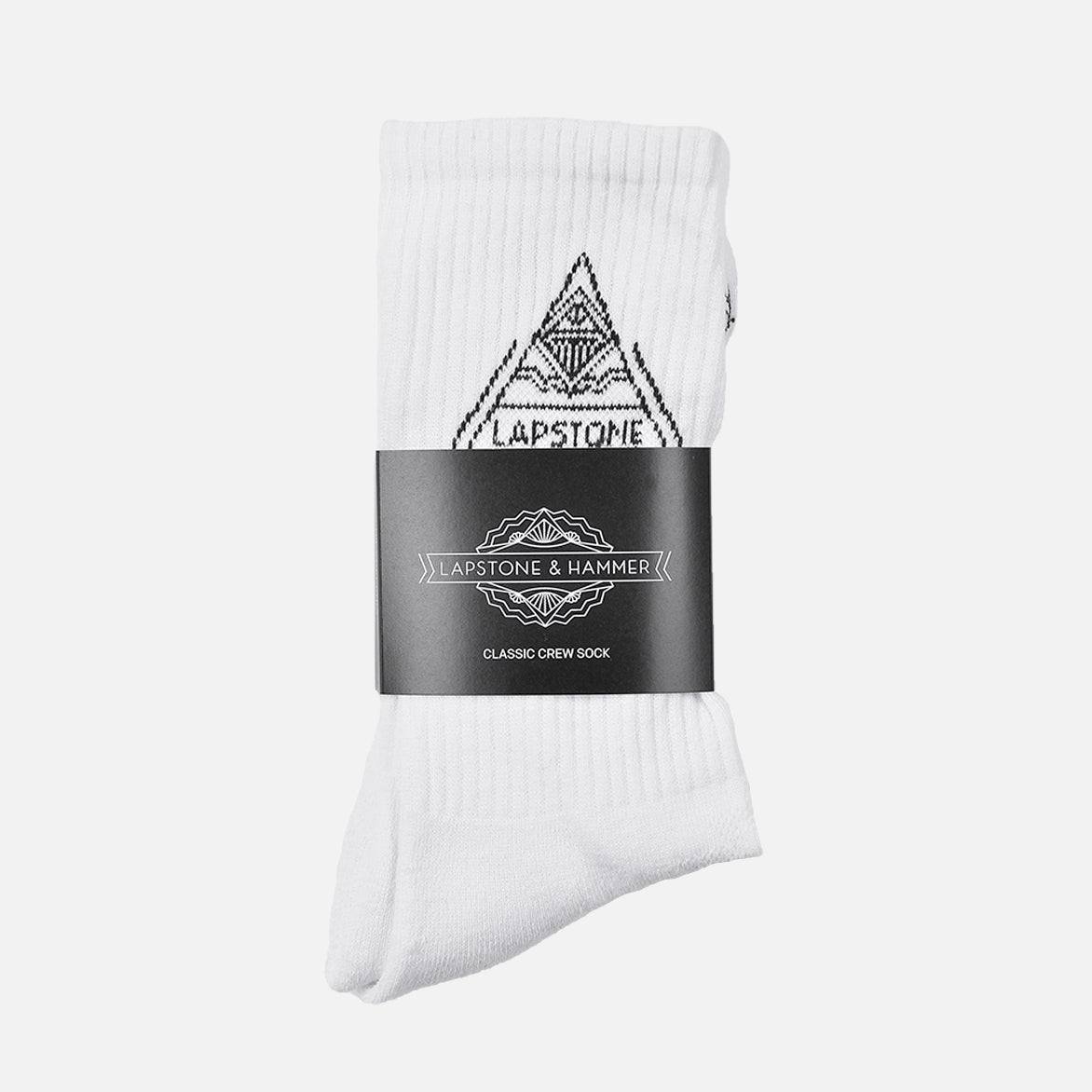 DIAMOND CREW SOCK - WHITE