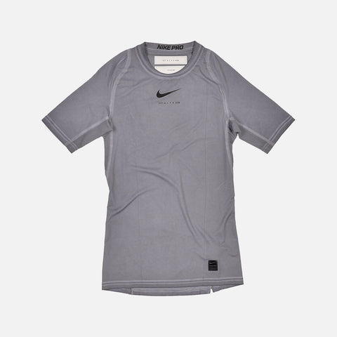 NIKE X ALYX SHORT SLEEVE DYED TEE - GREY