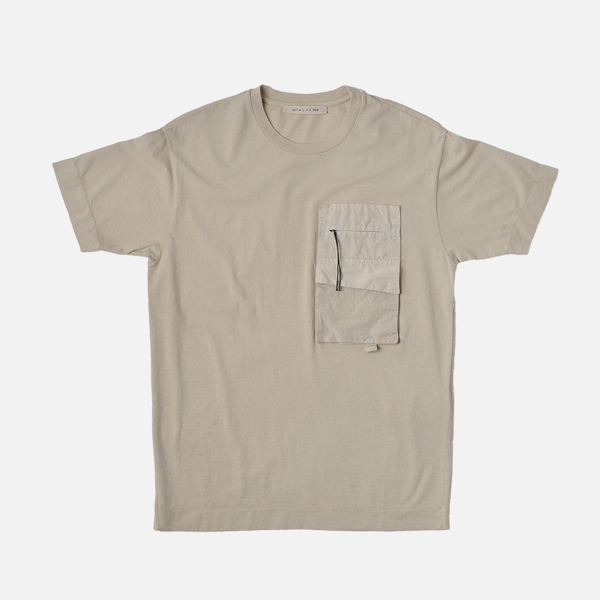 MULTI POCKET TEE - TAN