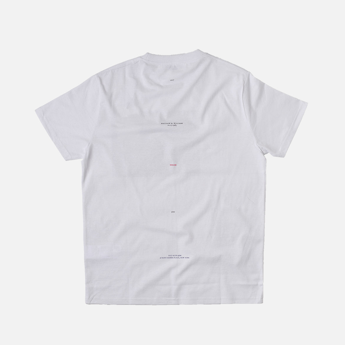 FLAG RING S/S TEE - WHITE