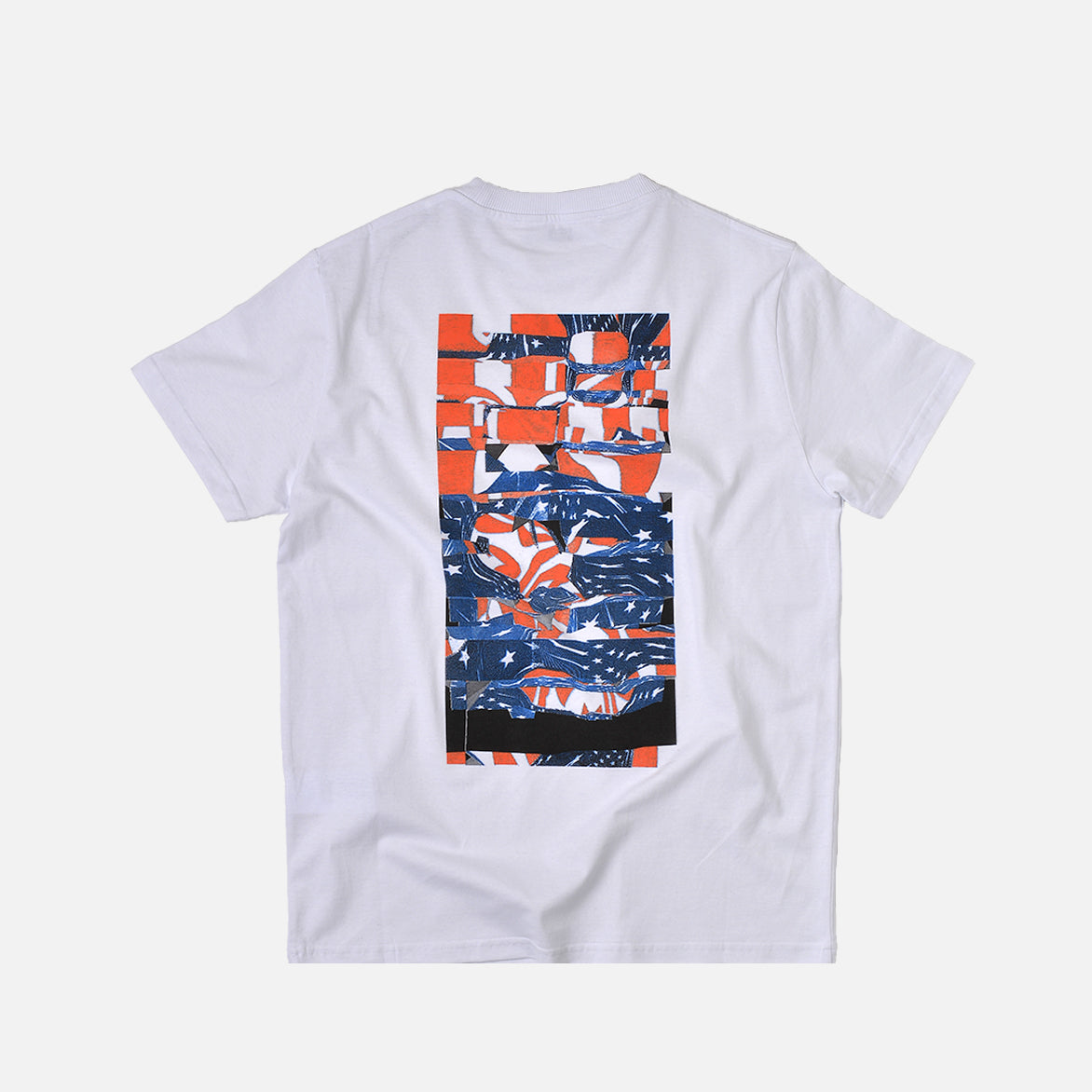 COLLAGE S/S TEE - WHITE