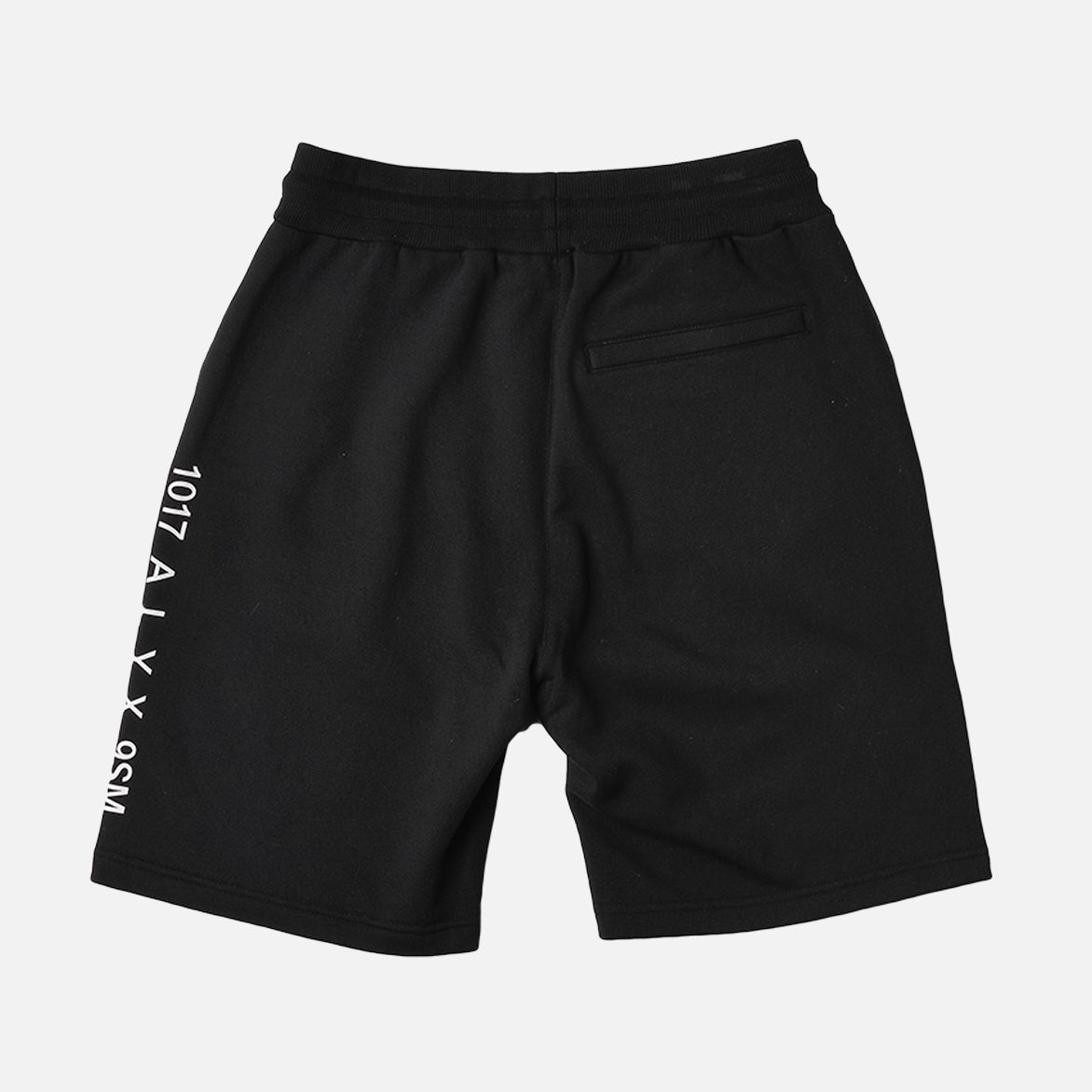 AXEL SWEAT SHORT - BLACK
