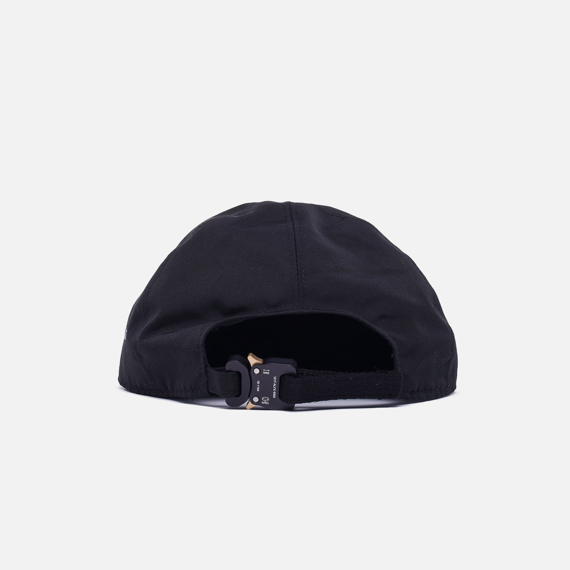 BASEBALL CAP WITH BUCKLE - BLACK
