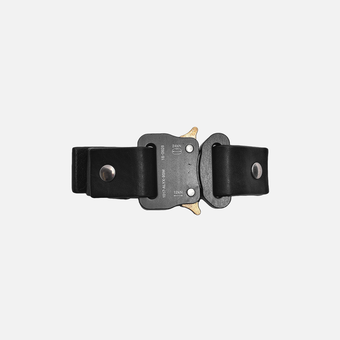SMALL BUCKLE CUFF - BLACK
