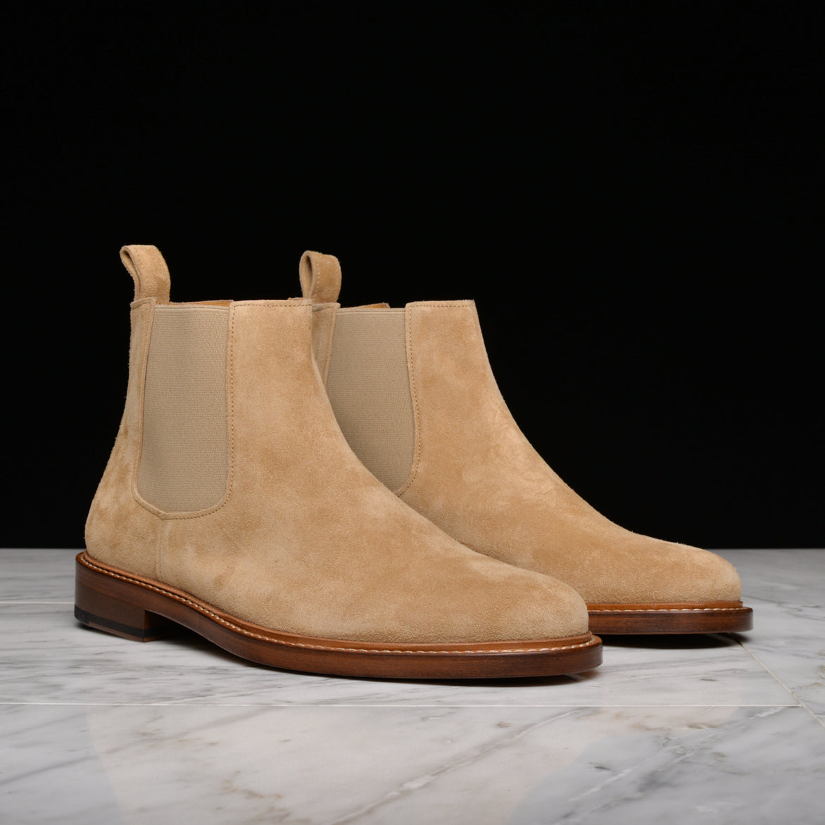ETHAN ANKLE BOOT - BEIGE