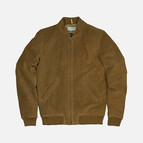 LOUIS W. FERRIS JACKET - TOBACCO