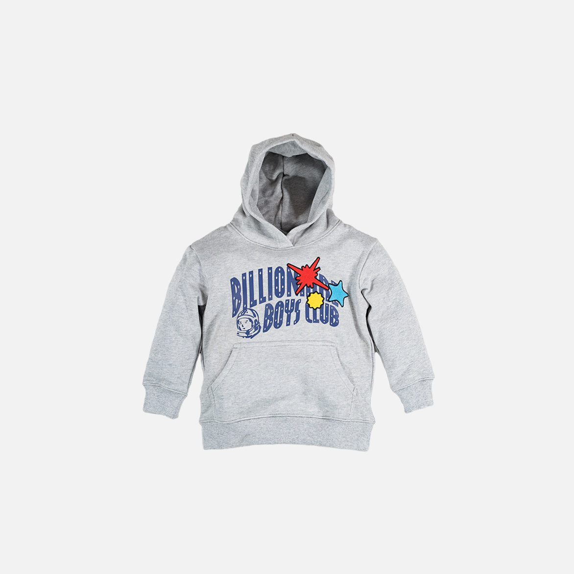 KIDS ARCHOSAUR HOODIE - HEATHER GREY