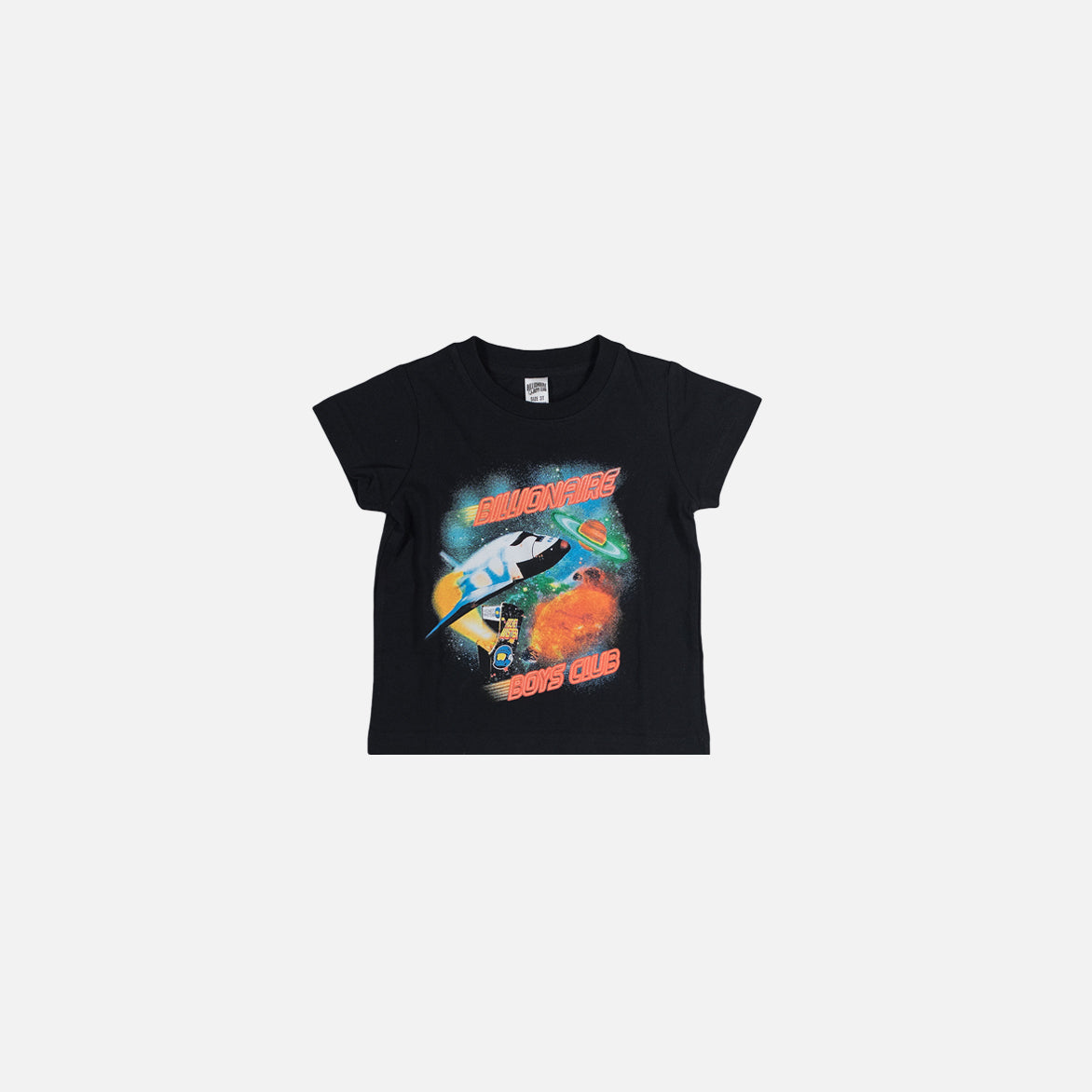 KIDS GALAXY SS TEE - BLACK