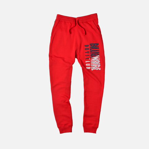 SPLIT SWEATPANT - RED