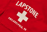 LAPSTONE LIFE SWIM TRUNKS - RED