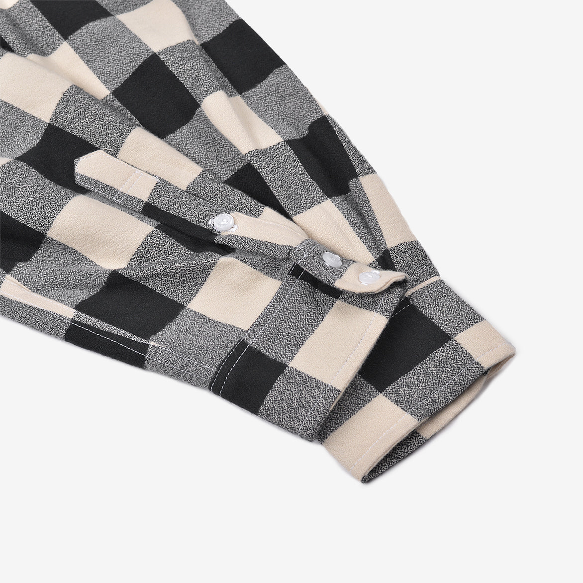BUFFALO CHECK FLANNEL - IVORY