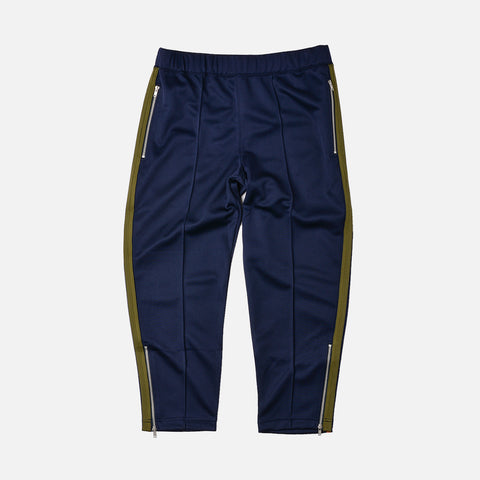 TAPED TRACK PANT - NAVY / OLIVE