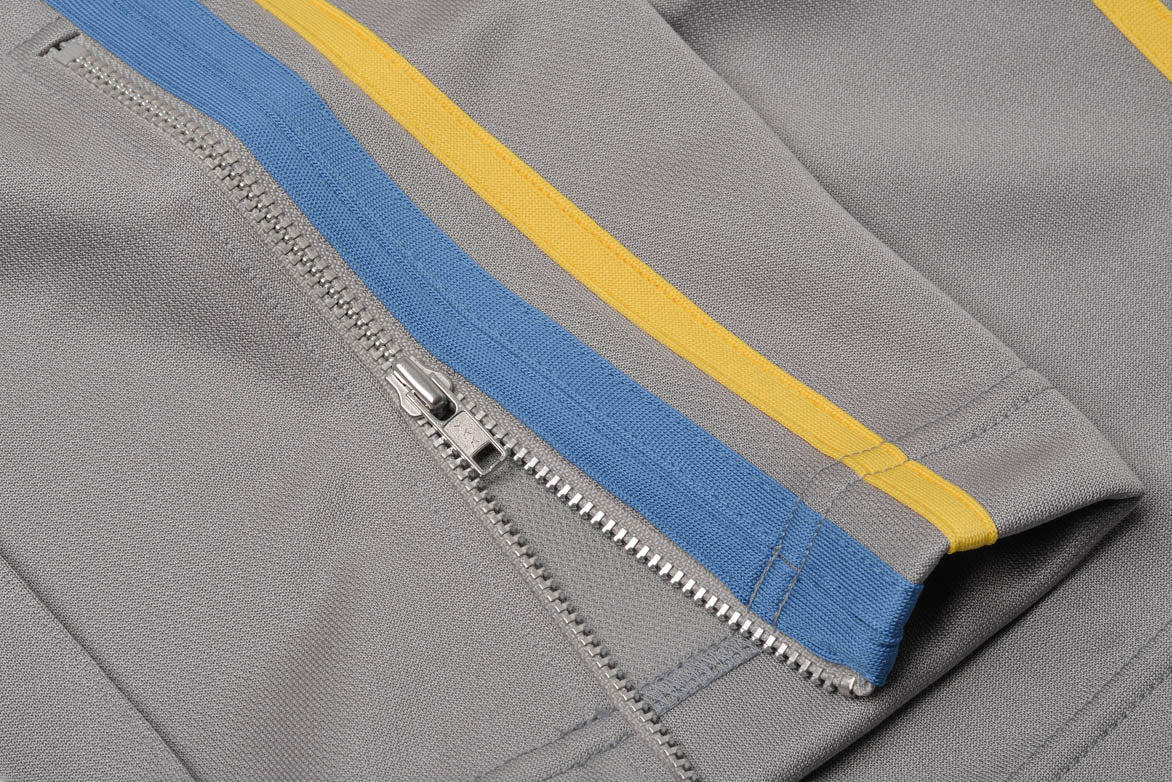 TAPED TRACK PANT - GREY / BLUE