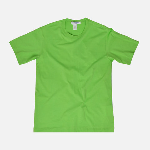 BOYS LOGO TEE - LIME