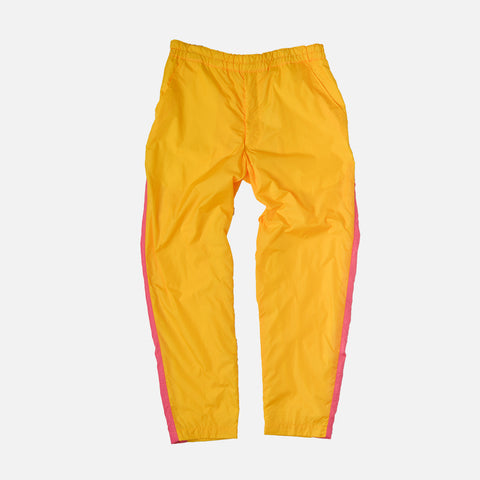 SIDE PANEL TRACK PANT - YELLOW / PINK