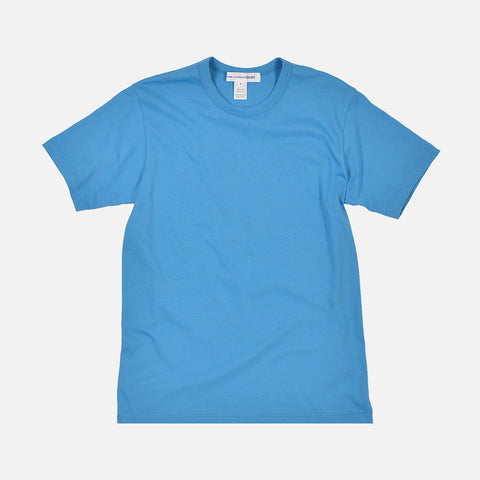 SHIRT BACK LOGO TEE - BLUE