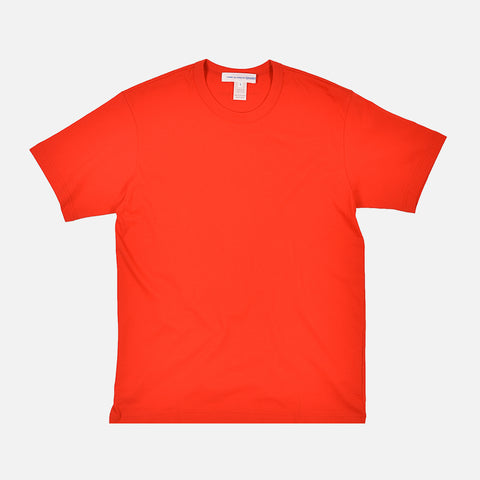 SHIRT BACK LOGO TEE - RED