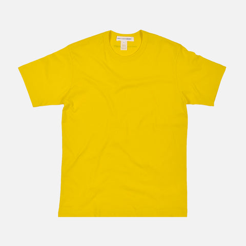 SHIRT BACK LOGO TEE - YELLOW