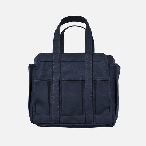 CANVAS TOOL BAG - NAVY