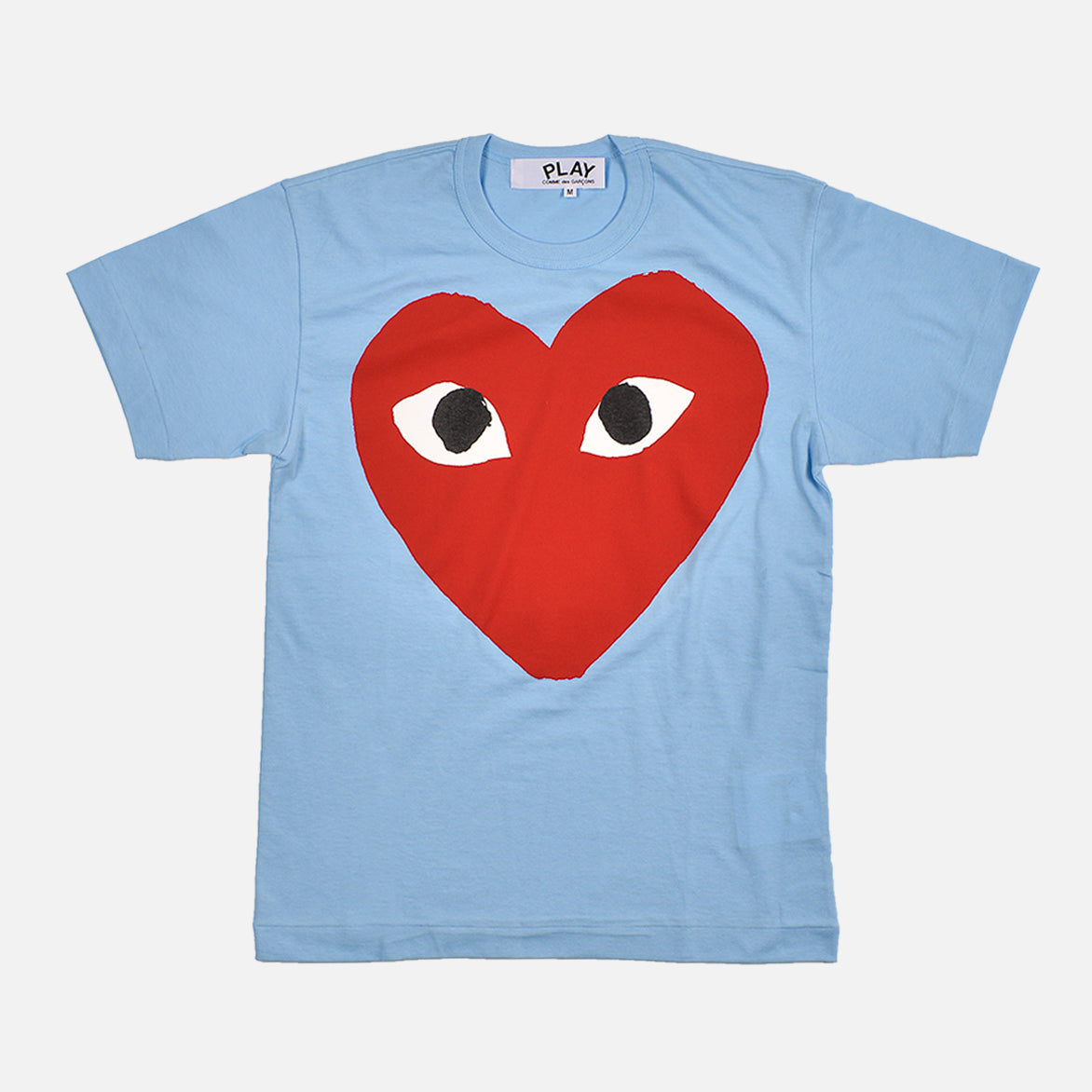 BIG HEART LOGO TEE - BLUE