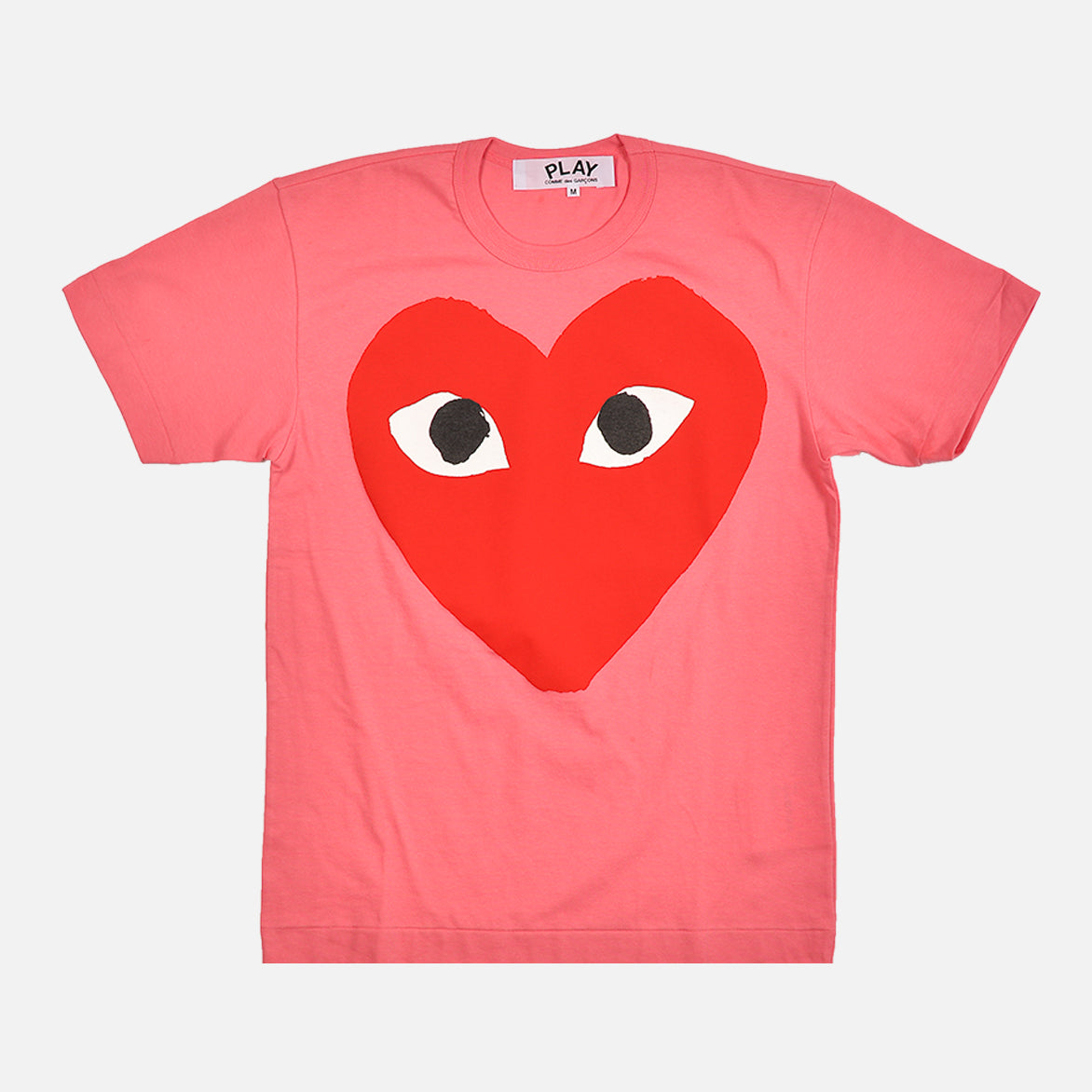 BIG HEART LOGO TEE - PINK
