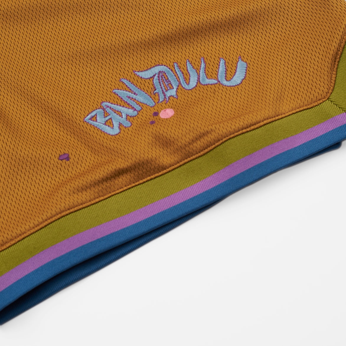 BANDULU X CONVERSE SHORTS - WOOD THRUSH