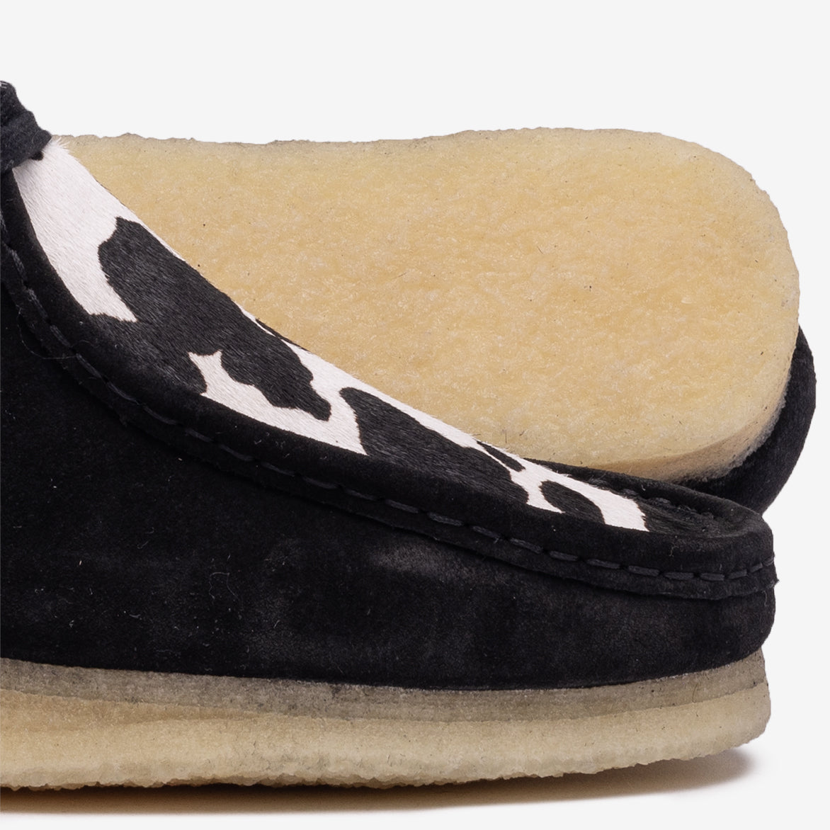 WALLABEE BOOT - COW PRINT SUEDE