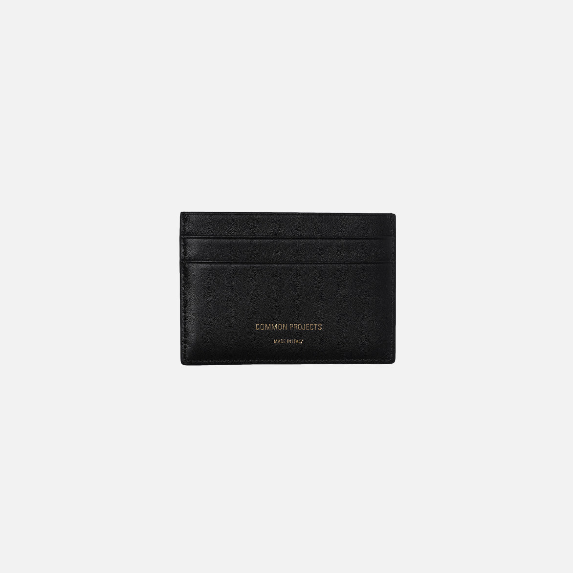MULTI CARD HOLDER IN SOFT LEATHER - BLACK