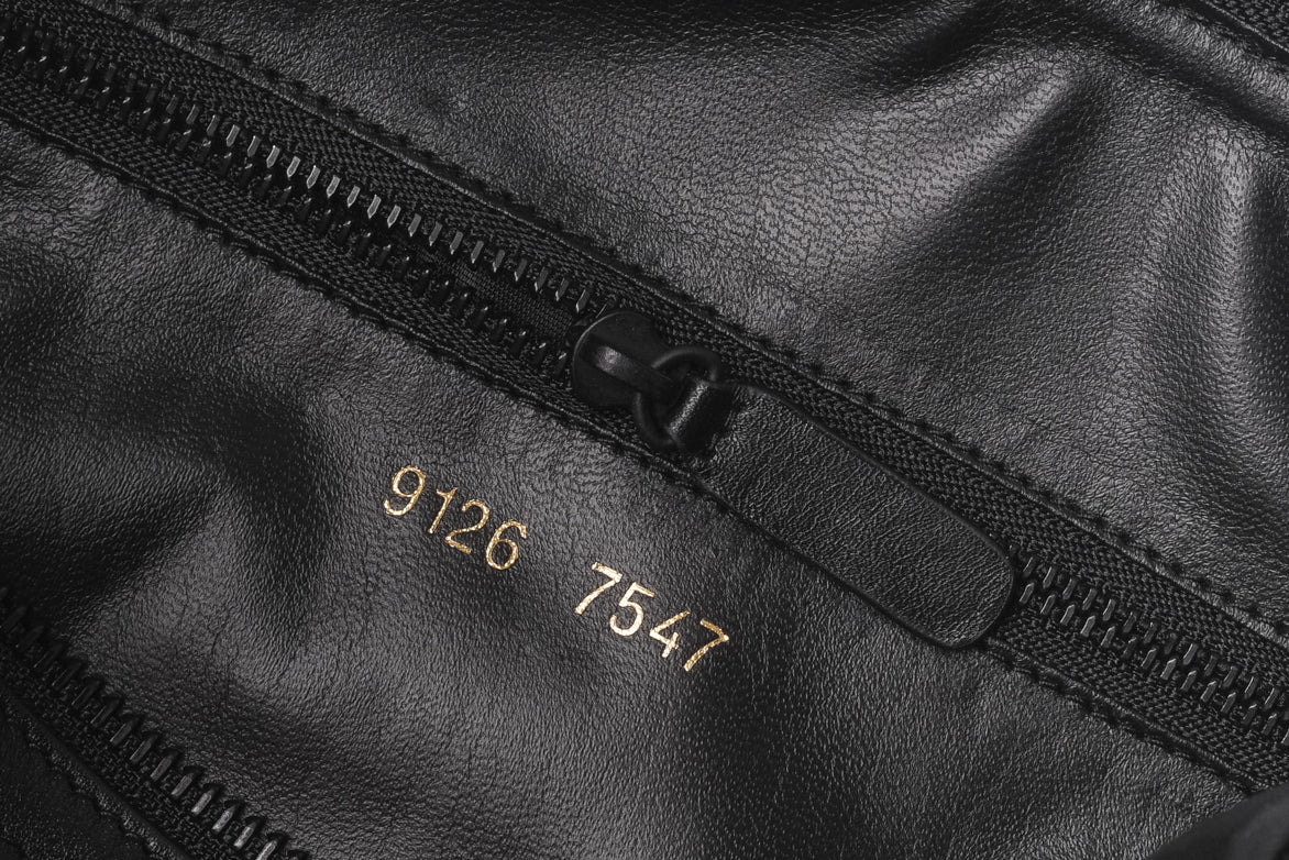 1e7b3822c0 ... TOILETRY BAG IN SOFT LEATHER - BLACK