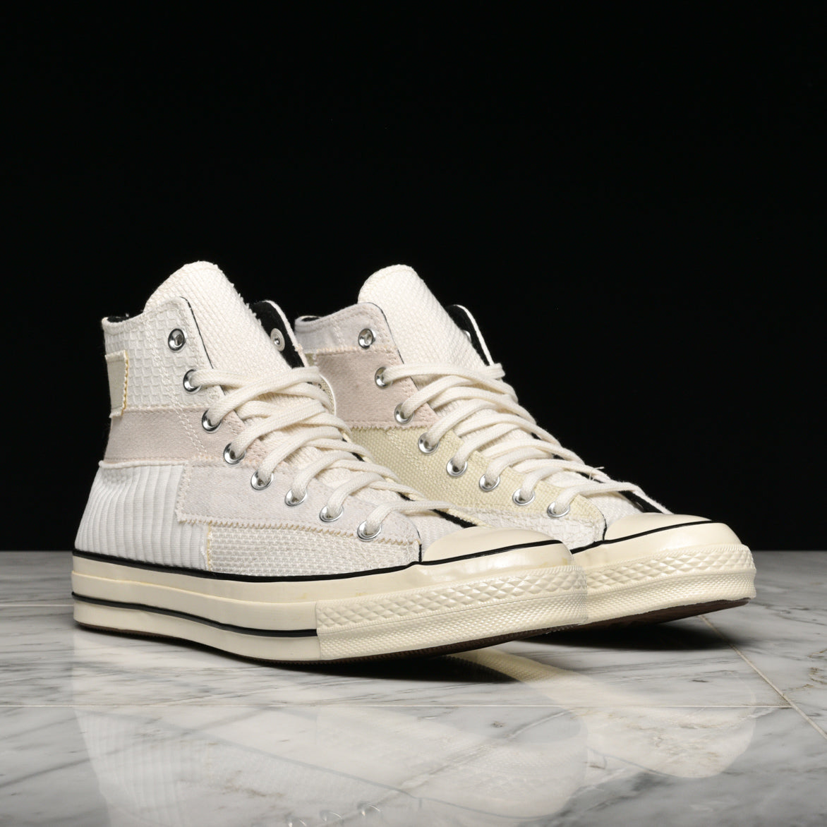 "CHUCK 70 HIGH ""MONO PATCHWORK"" - WHITE"