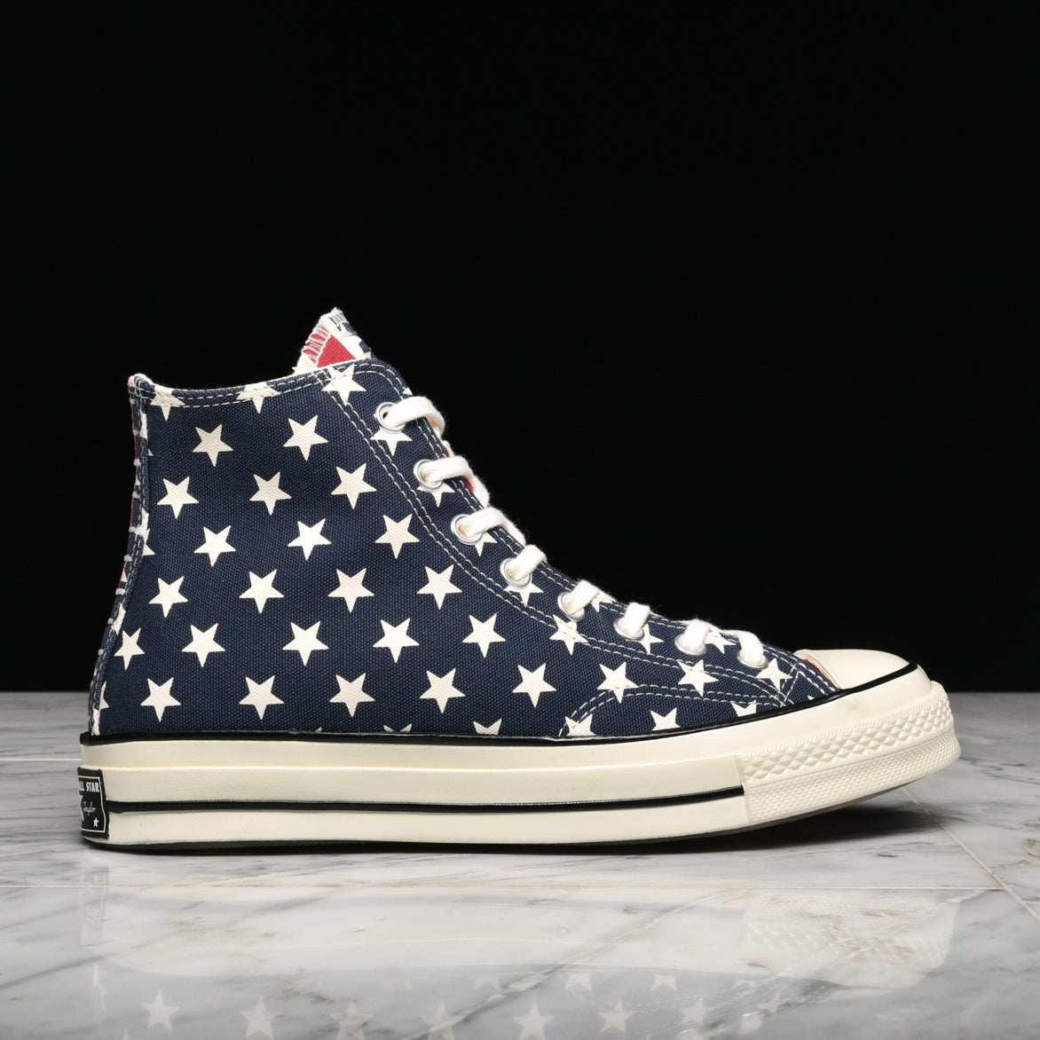 "CHUCK 70 HIGH RESTRUCTURED ""AMERICANA"" - RED / WHITE / NAVY"