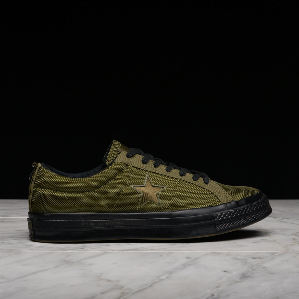 fc036e3661d CARHARTT WIP X CONVERSE ONE STAR OX - HERBAL   MEDIUM OLIVE ...