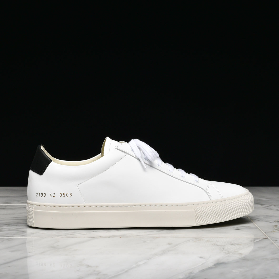 RETRO LOW - WHITE