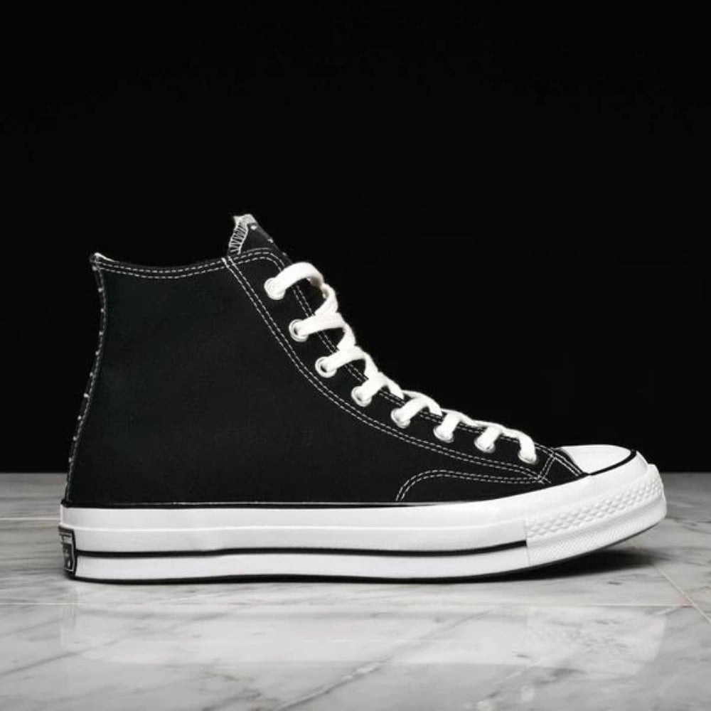 "CHUCK 70 HI ""RESTRUCTURED"" - BLACK / ALMOST BLACK"