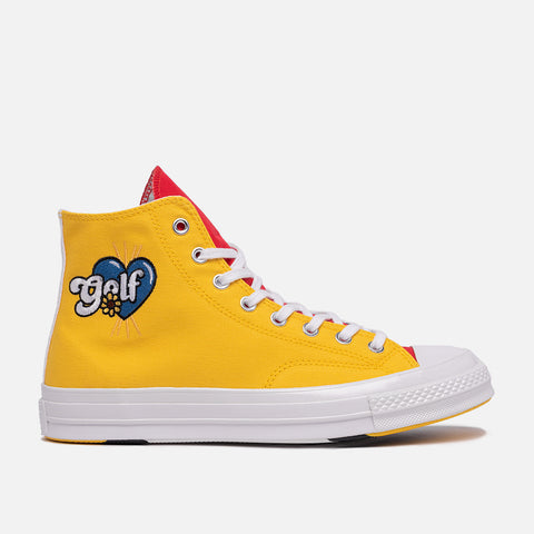 GOLF WANG X CONVERSE CHUCK 70 HI - BLUE / YELLOW / RED