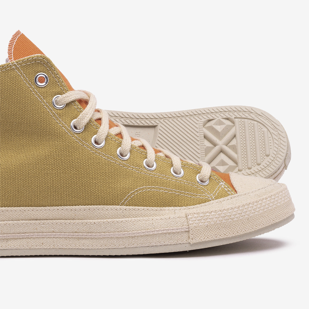 "CHUCK 70 HIGH ""RENEW"" - PRAIRIE SAND / NOBLE GREY"