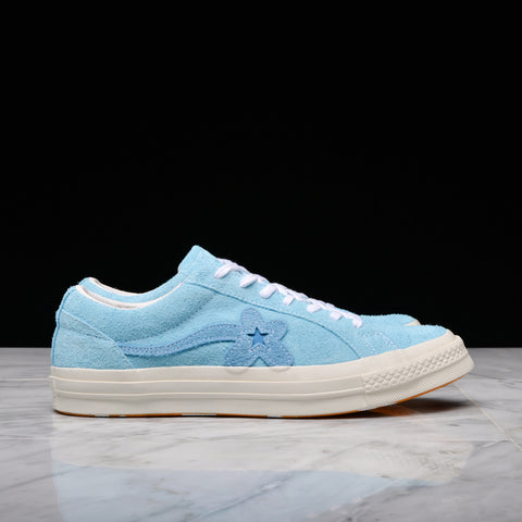 GOLF LE FLEUR* x CONVERSE ONE STAR OX - BACHELOR BUTTON
